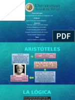 Diapositivas Logica Aristotelica y Silogismo