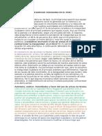 Inseguridad Ciudadana en El Perú