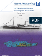 ss Mendi Geophysical Assessment Report