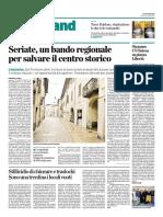 2016-10-08 Seriate Un Bando Regionale Per Salvare Il Centro Storico