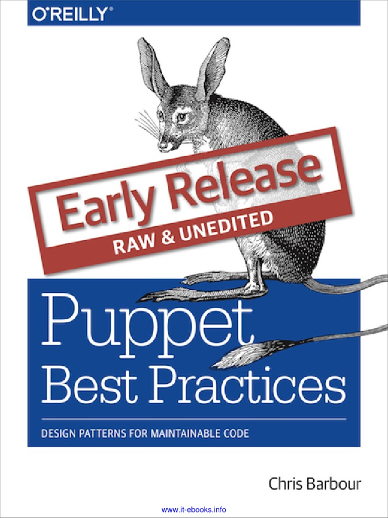 Puppet Best Practices | O'reilly Media | Variable (Computer Science)