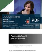 ACCA F8 BPP Passcard 2016/2017