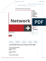 CompTIA Network+ (Exam N10-006)