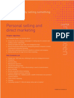 Chapter Nineteen - Personal Selling and Direct Marketing