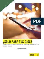 CLASIFICACIÓN DE 11 EMPRESAS DE TECNOLOGÍA RESPECTO A LA ENCRIPTACIÓN Y LOS DERECHOS HUMANOS