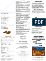 Native Moccasins Rock Brochure 2010