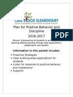 behavior support packet 2016v2
