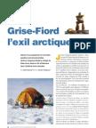 Grise-Fiord, l'exil arctique