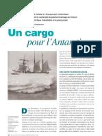 Un cargo pour l'Antarctique