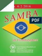 Flyer a6 Sambatag 2016