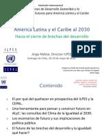 Los Objetivos de Desarrollo Sostenible y la Construcción de Futuros para América Latina y el Caribe