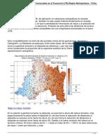 Deformaciones de Distancias Horizontales en La Proyeccion Utm Region Metropolitana Chile