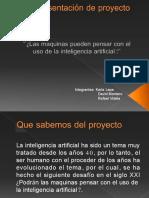 Presentación de Proyecto Comunicacion Escrita.