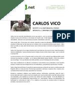 Carlos Vico IV Muestra Internacional Nuevas Ideas para Nuevos Tiempos