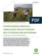 Strengthening Armenia's Agricultural Sector Through Multi-Stakeholder Networking