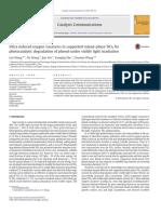 Catalysis Communications Volume 87 Issue 2016 [Doi 10.1016_j.catcom.2016.09.011] Wang, Lan; Wang, Xu; Yin, Jiao; Zhu, Yunqing; Wang, Chuan