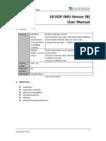 10 DOF IMU Sensor B User Manual En