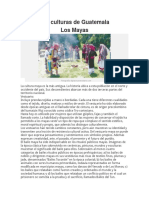 Las Culturas de Centroamerica