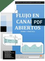 Flujo en Canales Abiertos Teoria y Pract