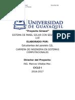 Proyecto Girasol