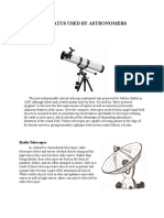 Apparatus Used by Astronomers