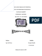 Instrumentos de Medición(Lab. Física)