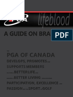 PGA of Canada Branding Guidelines