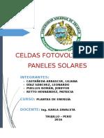 Informe de Paneles Solares