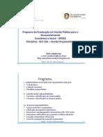 GPDES - ACC 243 - T3 - Princípios Orçamentários