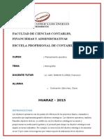Clara Cochachin Planeamiento Operativo Monografia