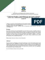 O Sanitarismo Brasileiro Contextualização Do Conto Urupês de Monteiro