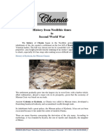 History of Chania