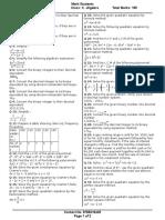 MH State Class X MathsI_Sample_Paper