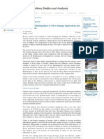 China's Dam Building Spree in Tibet_ Strategic Implications and India's Options _ Institute for Defence Studies and Analyses