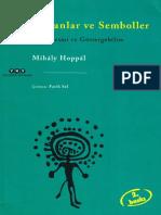 Mihaly Hoppal - Şamanlar ve Semboller - kaya Resmi ve Göstergebilim