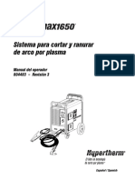 Manual de Intrucciones Powermax1650 Hypertherm