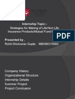 Strategies of Making Life, Non Life and Mutual Fund Products