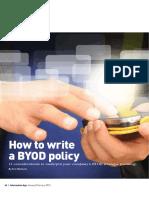 How to write a BYOD policy. IA_JanFeb_2013.62-65