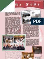 Aroma News 6th Edition Spring 2010