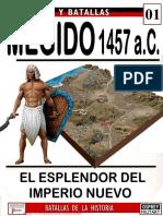 Ejercitos y Batallas 001 MEGIDO 1457 AC Osprey Del Prado