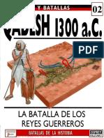 Ejercitos y Batallas 002 QADESH 1300 AC Osprey Del Prado