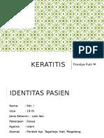 Resus Keratitis