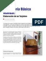 Carpinteria Basica