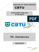 Consulplan 2014 Cbtu Metrorec Tecnico Industrial Eletrotecnica Prova