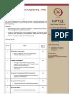 Advanced Foundation Engineering - Web Course