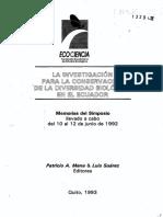 Ecociencia 1992