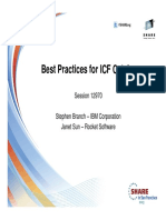 SHARE Best Practices for ICF Catalogs S12970
