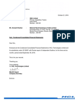 Condensed Consolidated Financial Statements [Company Update]