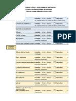 Lista de Cotejo - Informe de Tesis