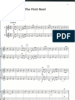 xmas violin duet easy